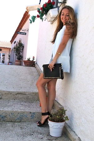 black studded bag Sammy dress bag - black retro vjstyle skirt