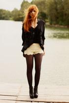 Chicwish shorts - romwe heels - Chicwish skirt