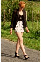 Zara shorts - H&M jacket