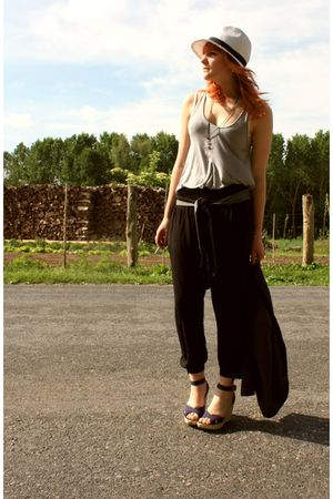 Zara pants - Naf Naf top