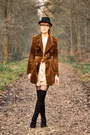 Pimkie-dress-vintage-coat-pimkie-wedges