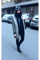 pull&bear coat - Stella McCartney bag