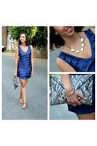 imperial dress - H&M bag - Zara sandals