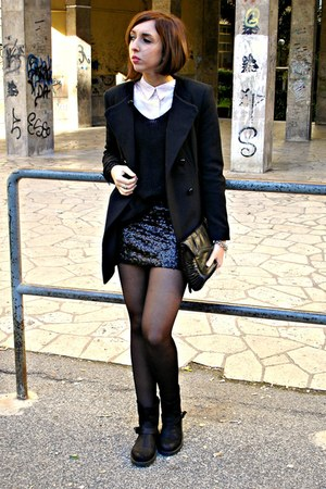 H&M skirt - Zara coat