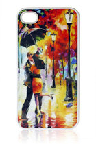 Watercolor Print iPhone 4 Case