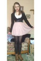 light pink Miss Selfridge skirt