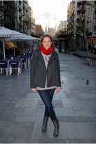 Abercrombie fitch jumper - Nous boots - G-Star jeans - G-Star jacket