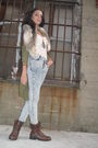 H-m-shirt-h-m-cardigan-bcbg-jeans-forever-21-boots-forever-21-accessorie
