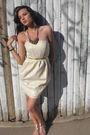 Cream-gold-dress-h-m-accessories-cynthia-rowley-shoes