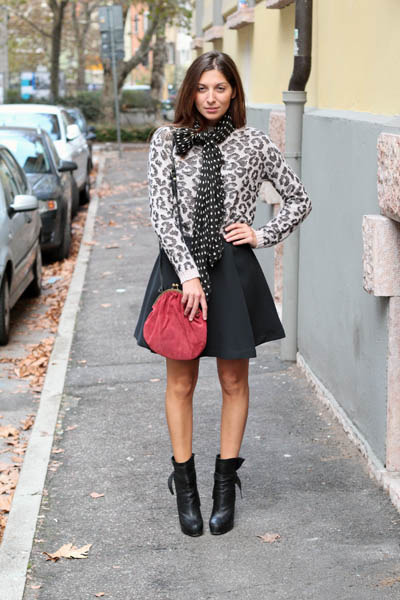 Susymix sweater - Dolce & Gabbana boots - project 149 skirt