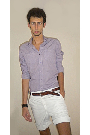 Hugo Boss shirt - Ralph Lauren Vintage belt - Marc by Marc Jacobs shorts - H&M a