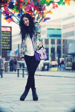 flowered Zara jacket