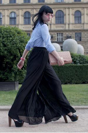 Mango shirt - pleated H&M pants - Ebay watch