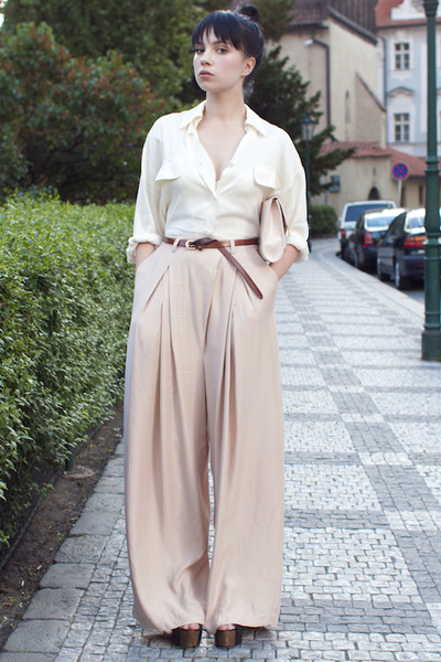 H&amp;M pants - vintage blouse