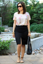 Vero Moda top - Club Monaco skirt