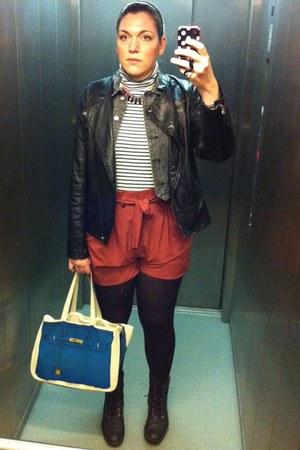 GINA TRICOT shorts - Dorothy Perkins jacket - Monki vest