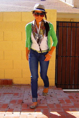 fedora Target hat - Zizibeh scarf