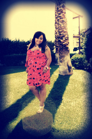 polka dots H&M dress