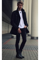 CCC shoes - house coat - H&M jeans - Choies t-shirt
