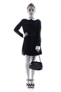 Black-tara-jarmon-dress-black-stradivarius-belt-black-chanel-purse-gold-ch
