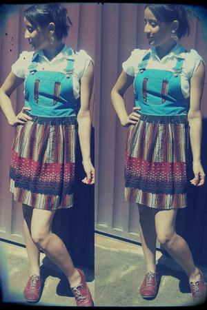 Ideale shoes - Zara dress - Tiffer shirt - Rommanel earrings