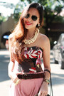 Brick-red-corset-nava-top-bubble-gum-vintage-cut-bangkok-pants