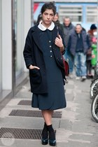 vintage dress - COS jacket - vintage bag - Stiù flats