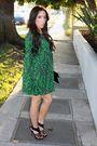 Green-forever-21-dress-black-anne-michelle-shoes-black-boutique-purse-blac
