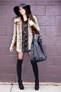 Black-my-design-mdlc-dress-beige-forever-21-coat-black-downtown-la-purse-b