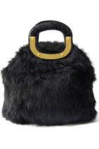 faux fur HAUTE & REBELLIOUS bag