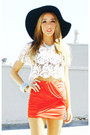 Off-white-haute-rebellious-blouse-black-floppy-hat-haute-rebellious-hat