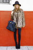 tan HAUTE & REBELLIOUS coat