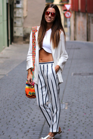 Zara pants - Knockaround sunglasses - Zara top