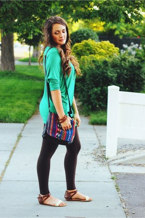 dark brown leggings M Rena leggings
