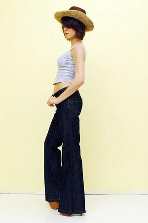 navy denim jeans banana republic jeans