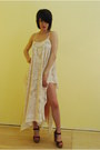 Cotton-lace-style-fawn-dress