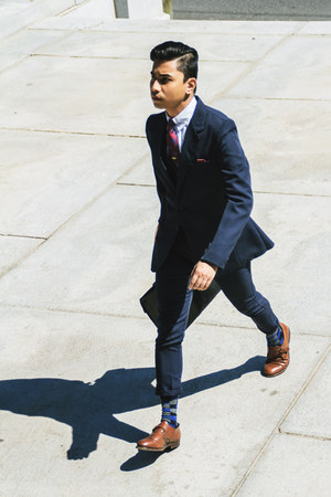 blue Vince Camuto socks