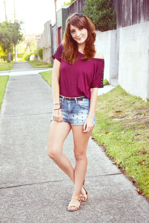 asos top - pull&amp;bear shorts
