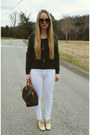 Gold-isaac-mizrahi-shoes-white-necessary-clothing-jeans