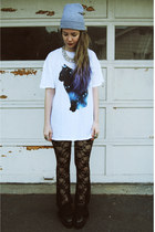 gifted Wildfox shirt - gifted OASAP shoes - gifted gypsy warrior pants