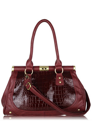 crimson Diamond Petal bag