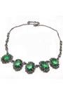 Diamond-petal-necklace