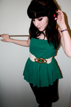 George top - Primark belt - H&M skirt