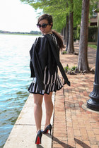 leather jacket blank nyc blazer - dress Zara dress