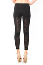 Black Mesh Leggings DivaNYcom Leggings