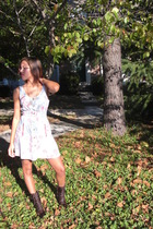 Urban Vintage dress - Steve Madden boots - Forever 21 necklace