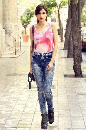 jeans - bodysuit