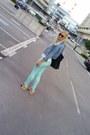 Vitnage-jacket-pull-bear-shirt-lollipops-paris-bag-tally-wejl-sunglasses