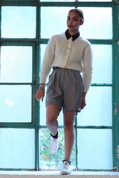 black DollsMaison shirt - DollsMaison shorts