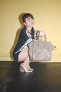 Black-choiescom-sweater-heather-gray-celine-bag-silver-choiescom-shorts
